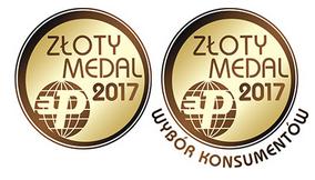 Złoty medal AMZ poduszka